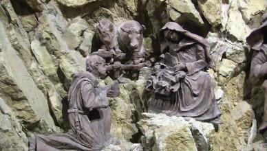 IL RESTAURO DELLA CAPPELLA DEL PRESEPE DI GRECCIO