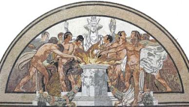 Mosaico Calcagnadoro